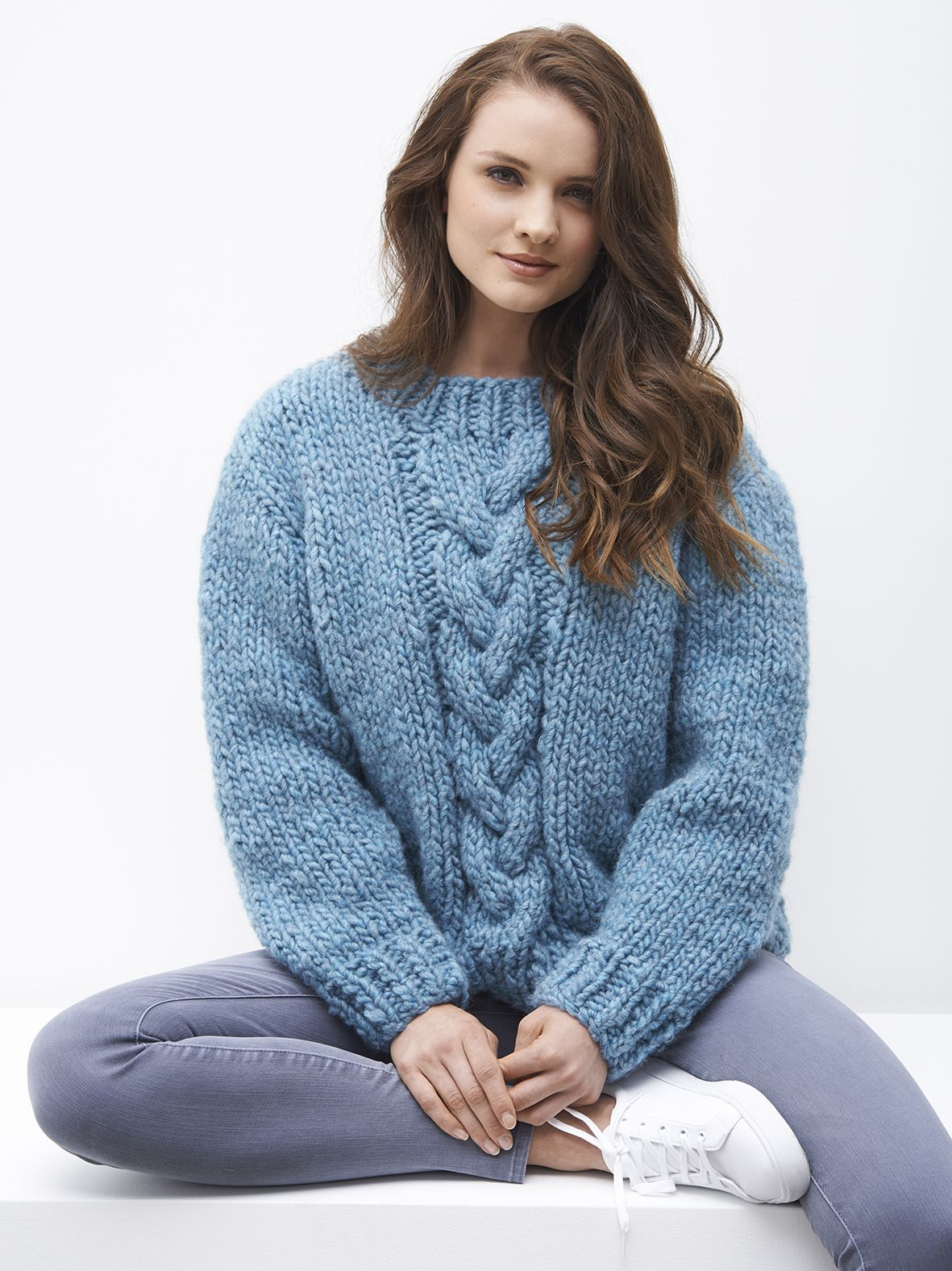 Chunky knit jumper by Patons Australia Jumper knitting