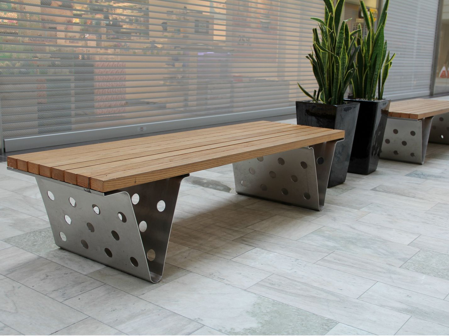 Backless bench seating SITTING BULL by Nola Industrier design ...