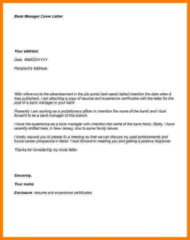 application letter bank manager lication for job sample Home - job application cover letter sample
