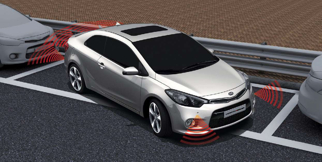 The 2014 Kia Cerato Koup in red. Find out more here http