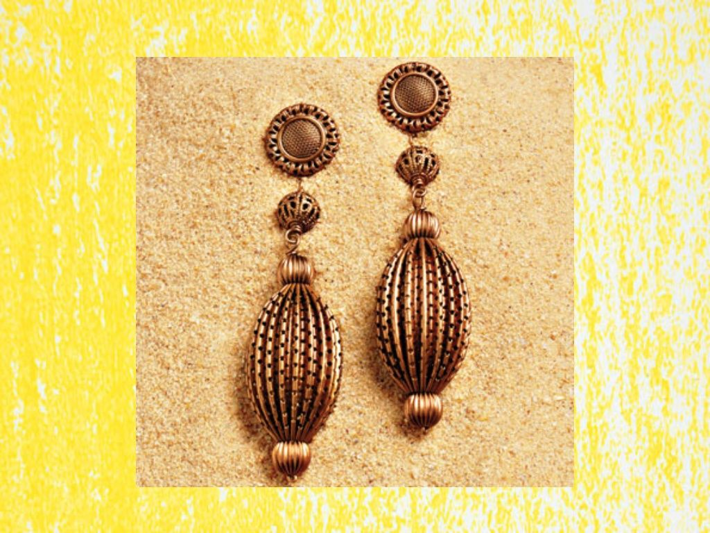 Femailcreations Bead Drop Earring