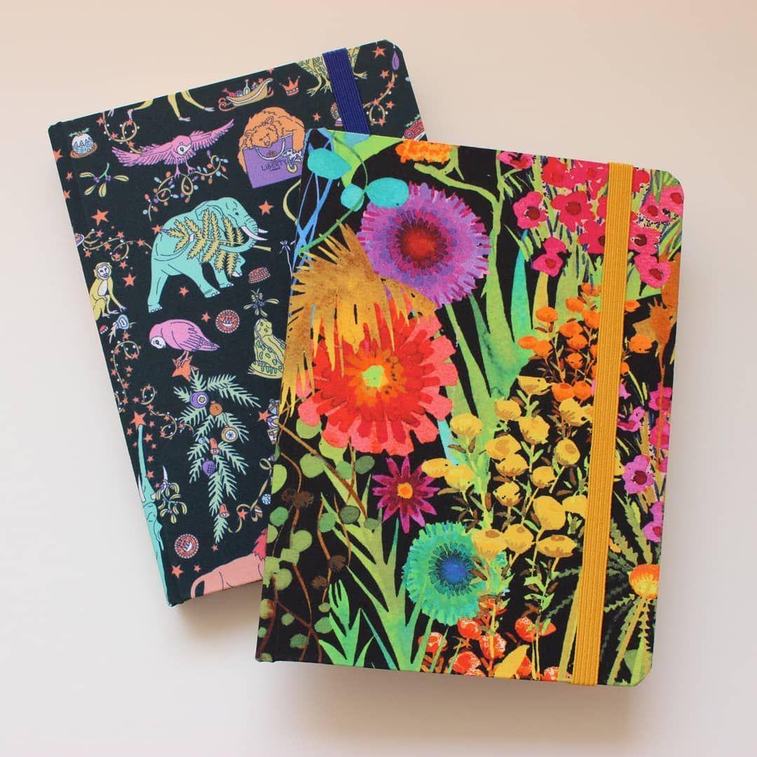 Os Primeiros Cadernos Com Tecidos De Londres Estao Prontos Esses