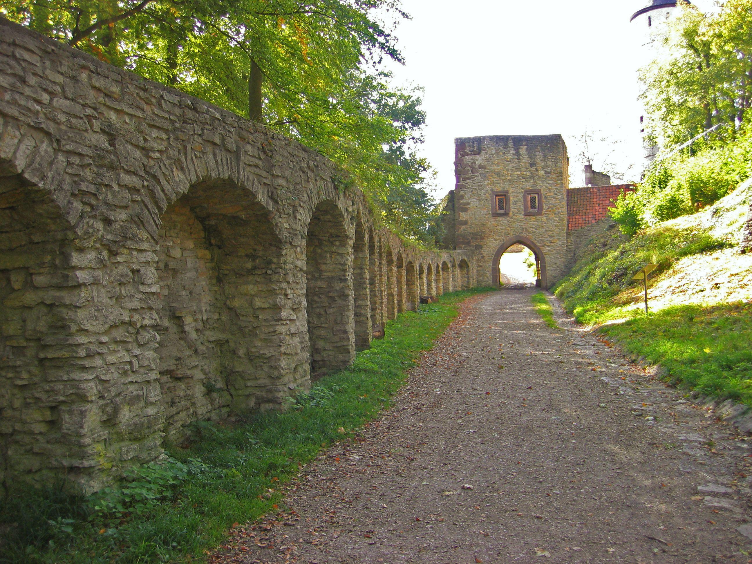 Burg #Plesse (Pforthaus)bei Göttingen, Deutschland