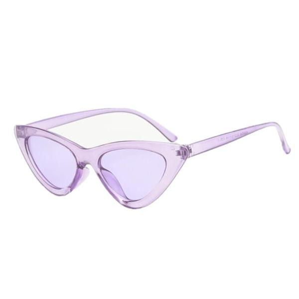 Lee Cat Eye Sunglasses With Colorful Lenses In 2020 Cat Eye Sunglasses Sunglasses Women Round Lens Sunglasses