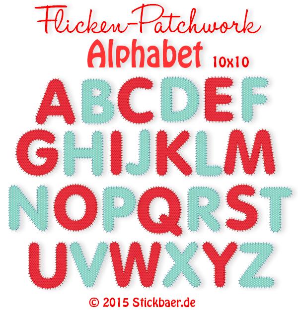 Flicken Patchwork Alphabet