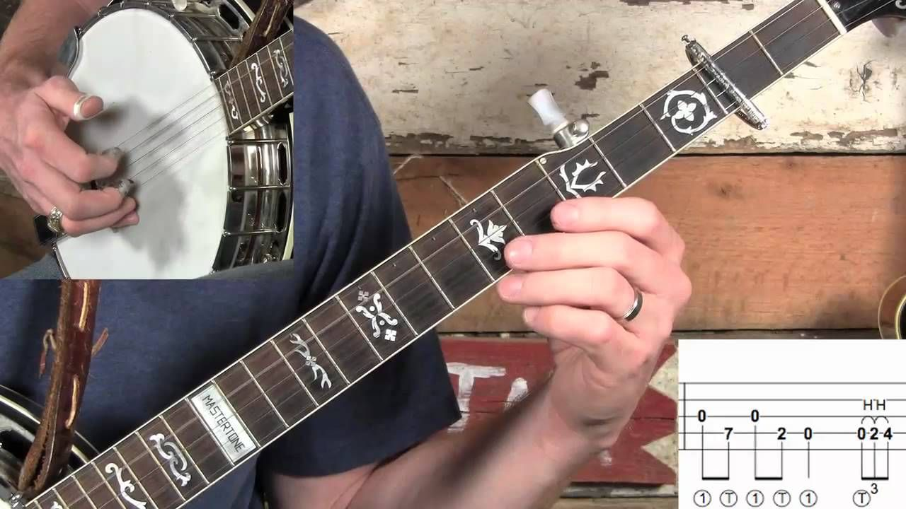 How to Play Cherokee Shuffle on Melodic Banjo! Banjo