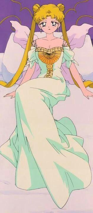 """Sailor Moon R"" - Usagi in captivity on Nemesis."