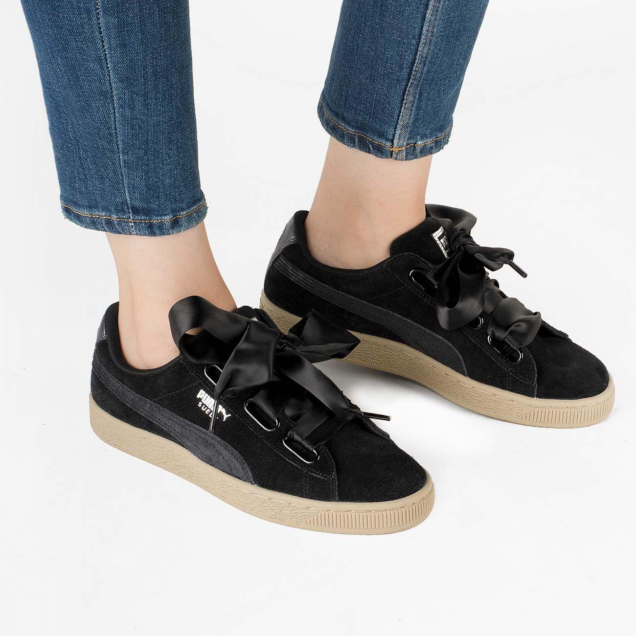 Puma Suede Heart Safari Shoes | bazardesportivo.com