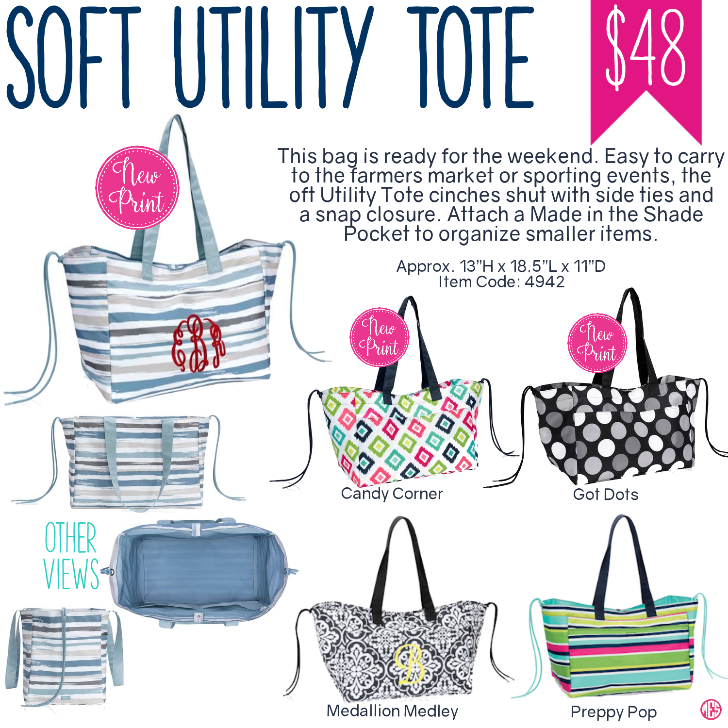 0f554a8c15b5 Thirty-One Soft Utility Tote - On special this month for just  15 when you  spend  35