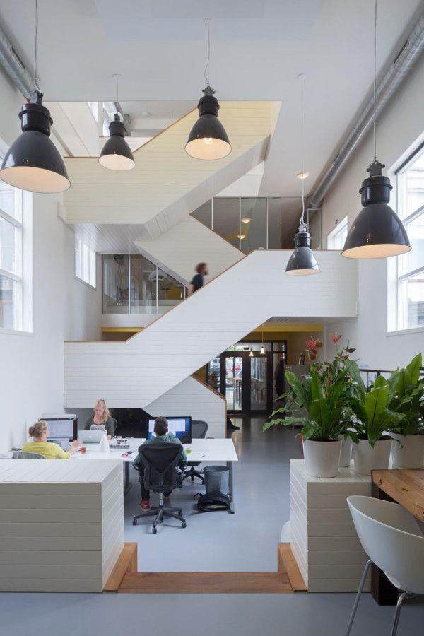 giant timber nest provides meeting room at baya park offices by planet 3 studios new office pinterest nests planets and reception counter baya park company office design