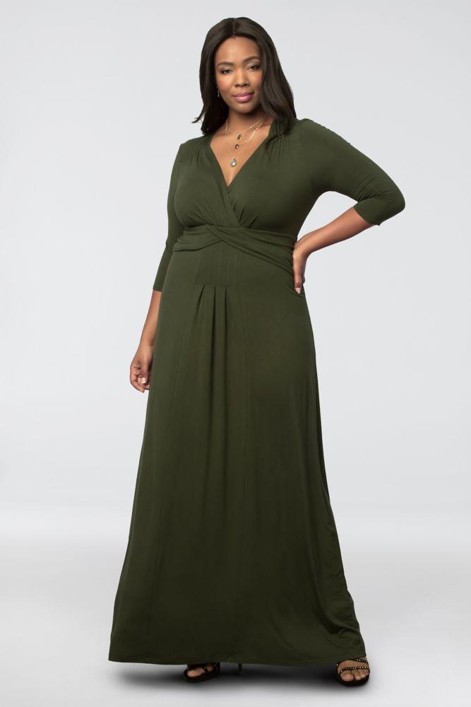 Jersey Plus Size Desert Rain Maxi Mother Of Bridegroom Dress
