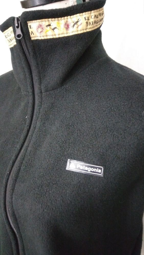 Patagonia Size Medium Sleeveless Golf Fleece Sweater Vest