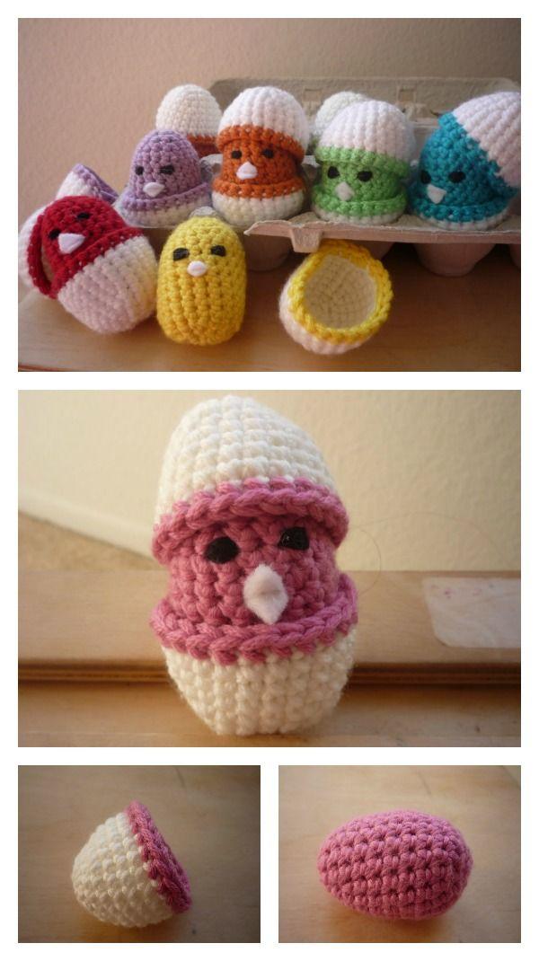Adorable Free Chick Crochet Patterns | Pinterest | La pascua, Ropa ...