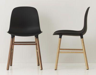 Chaise Form / Pied noyer - Normann Copenhagen Chambre d\u0027amis