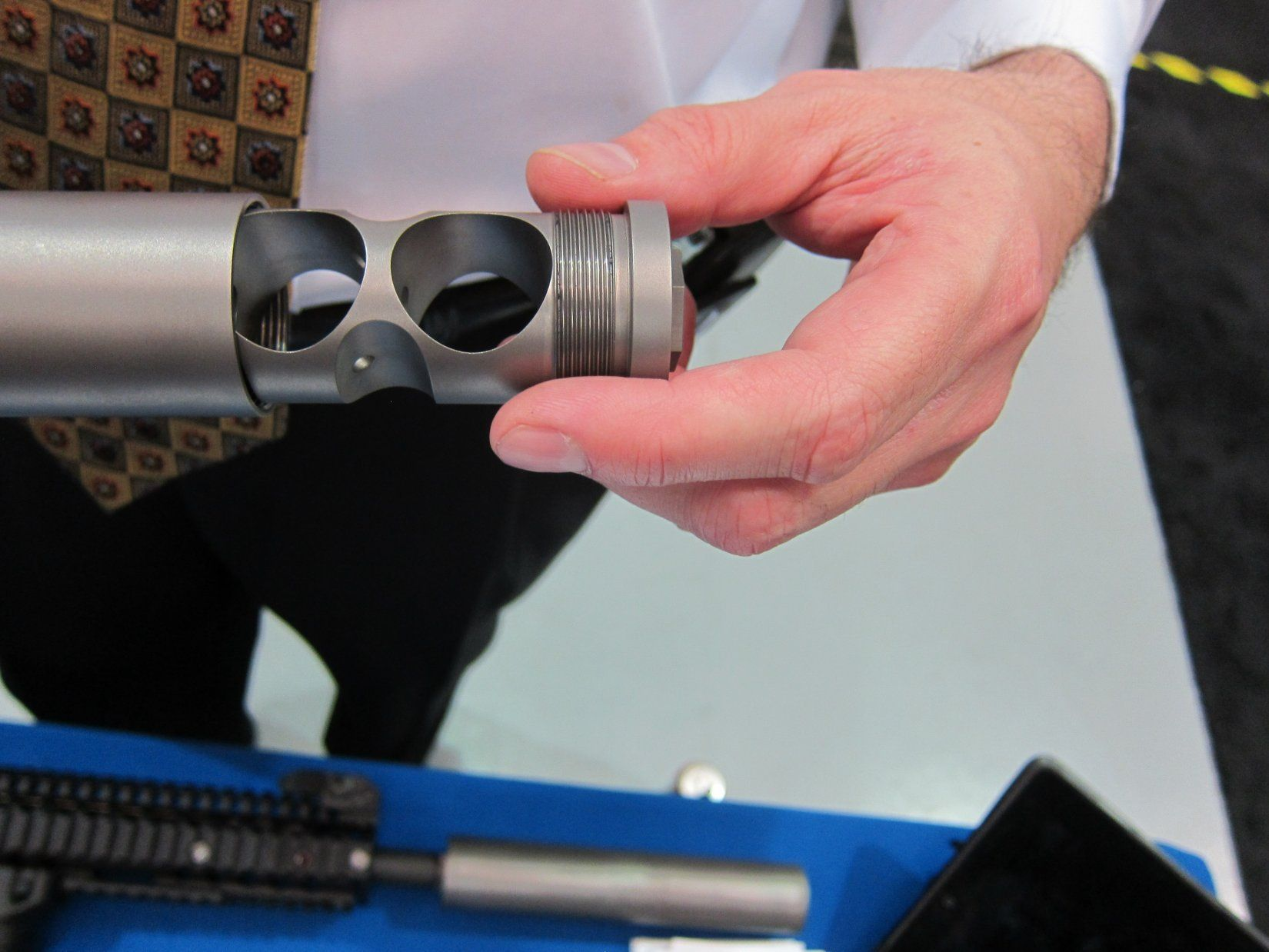 Falken industries mseries lightweight titanium silencers