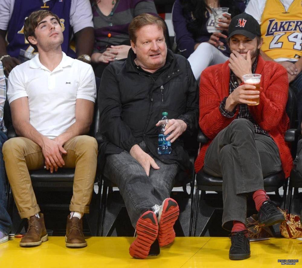 Zac, Man, & Ashton Kutcher!