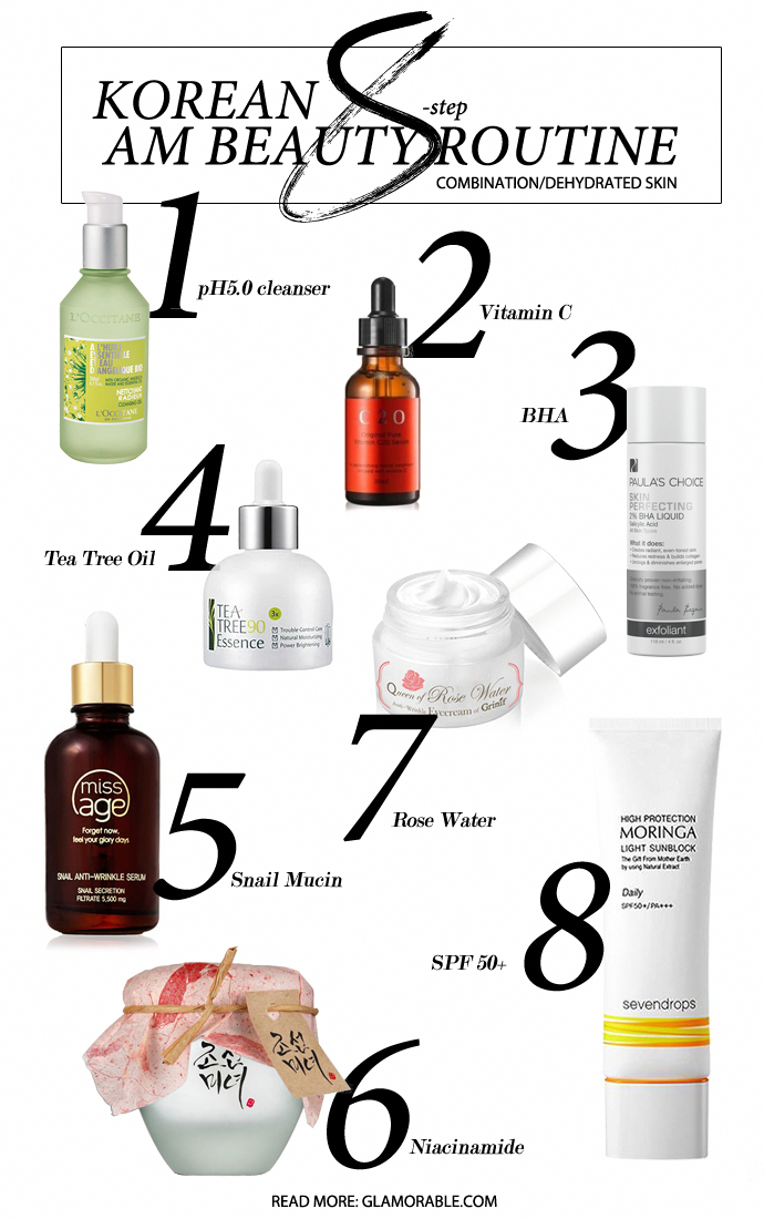 My Korean 8 Step Am Beauty Routine 8 Products I Use Every Day In The Morning With Explanations On Beauty Routines Beauty Skin Care Routine Skin Care Regimen
