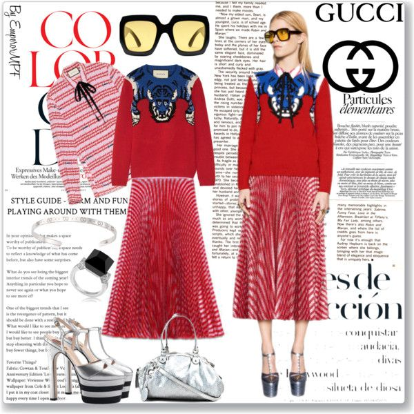 Outfit Inspiration Gucci Color Code