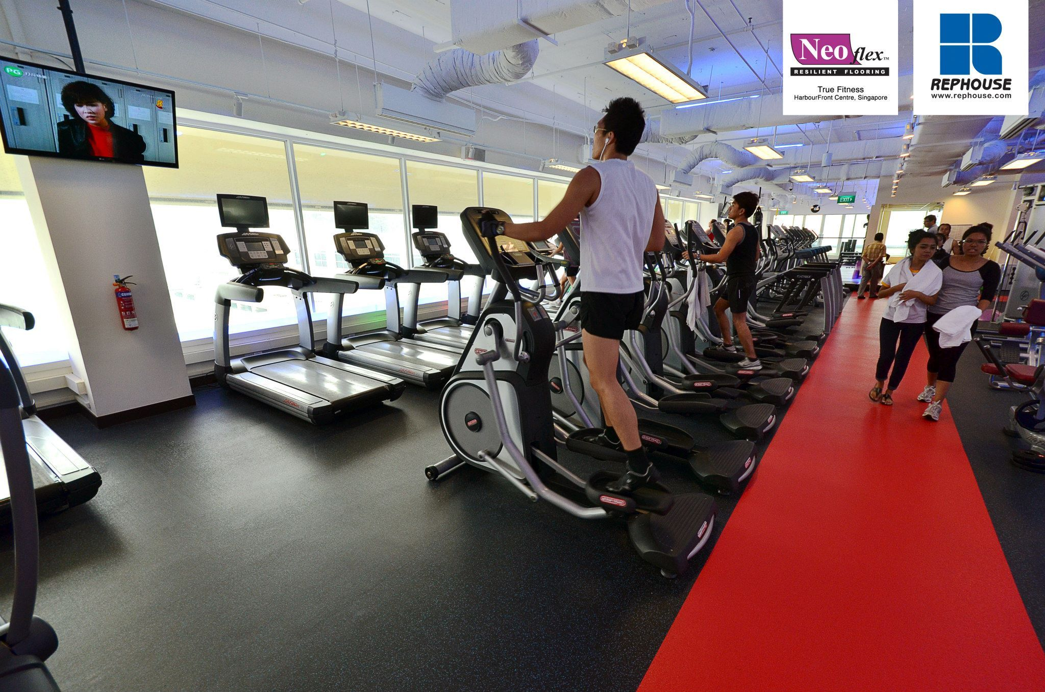 Neoflex 500 Series Rubber Fitness Flooring True Fitness