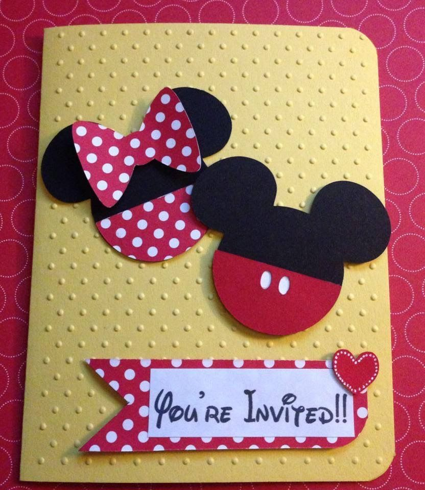 Mickey and Minnie Birthday Party Invitations, Minnie Mouse ...