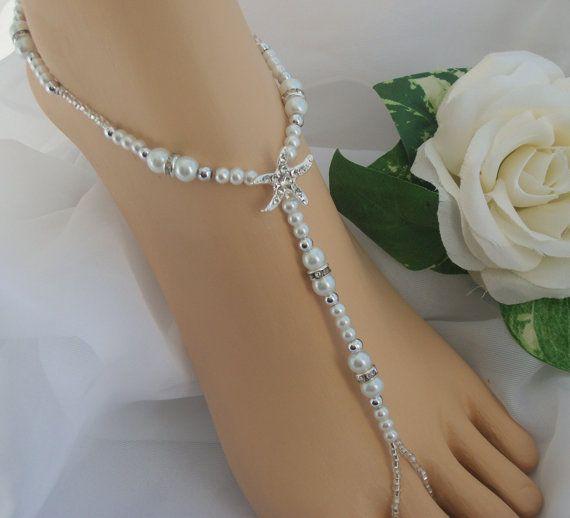 Starfish Foot Jewelry Wedding Barefoot Sandal Anklet Bridal