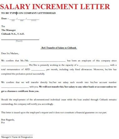 Increment Letter Salary Increment Letter Format Letters Font  English  Pinterest .