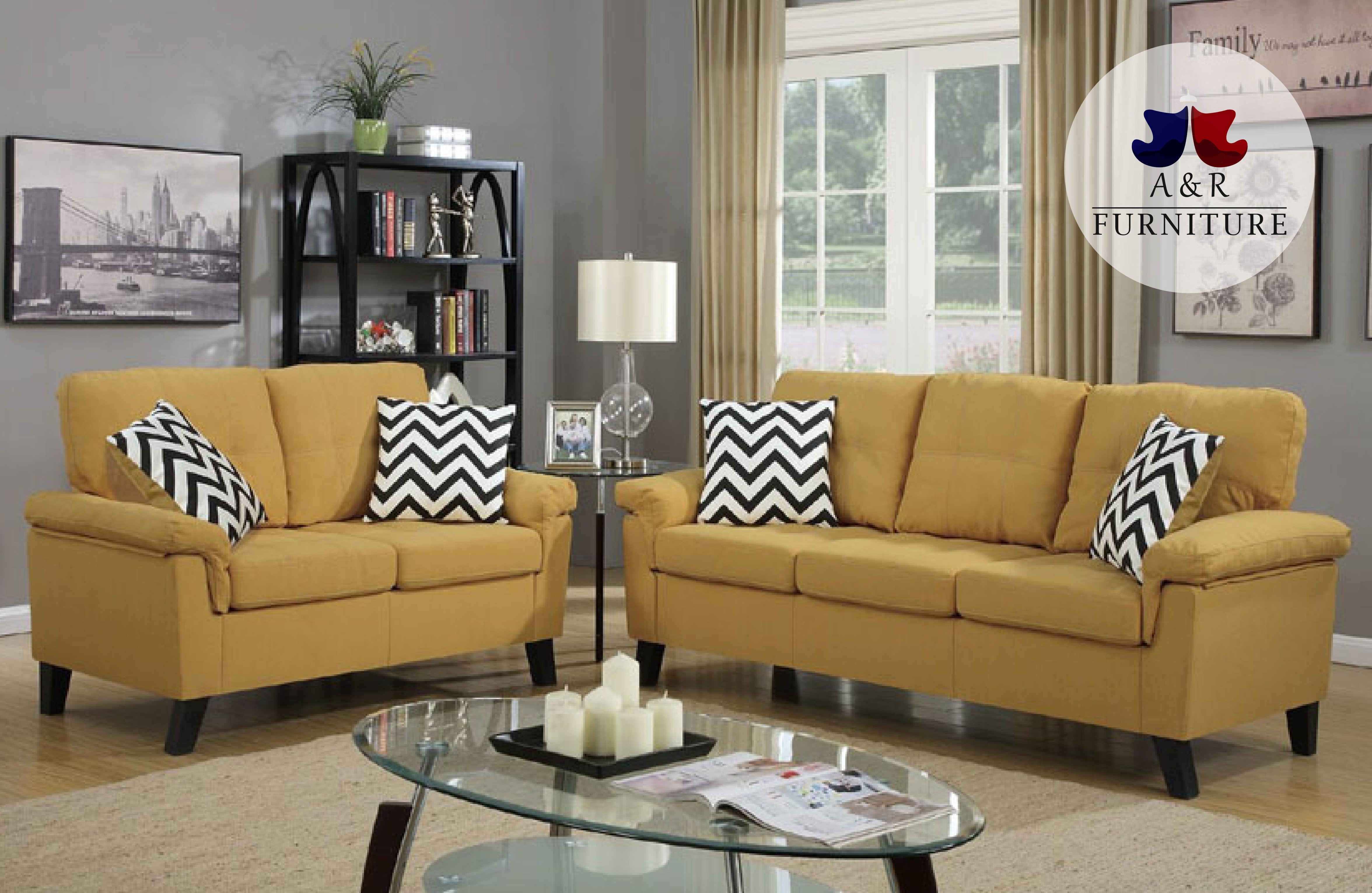Contemporary Sofa And Loveseat Pdx 58