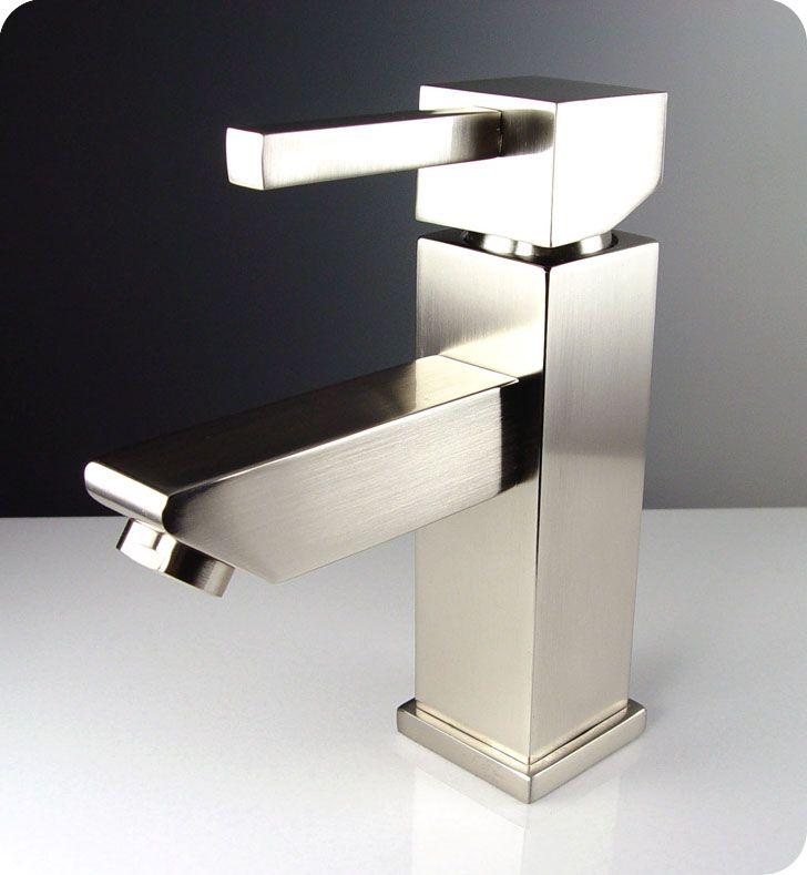 Fresca Fft1030bn Versa Single Hole Mount Bathroom Vanity Faucet