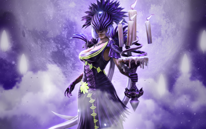 Download wallpapers Nox, female warriors, Smite characters