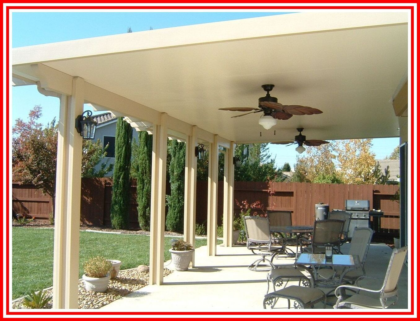 61 Reference Of Aluminum Patio Roof Cost In 2020 Backyard Gazebo Backyard Patio Furniture Patio