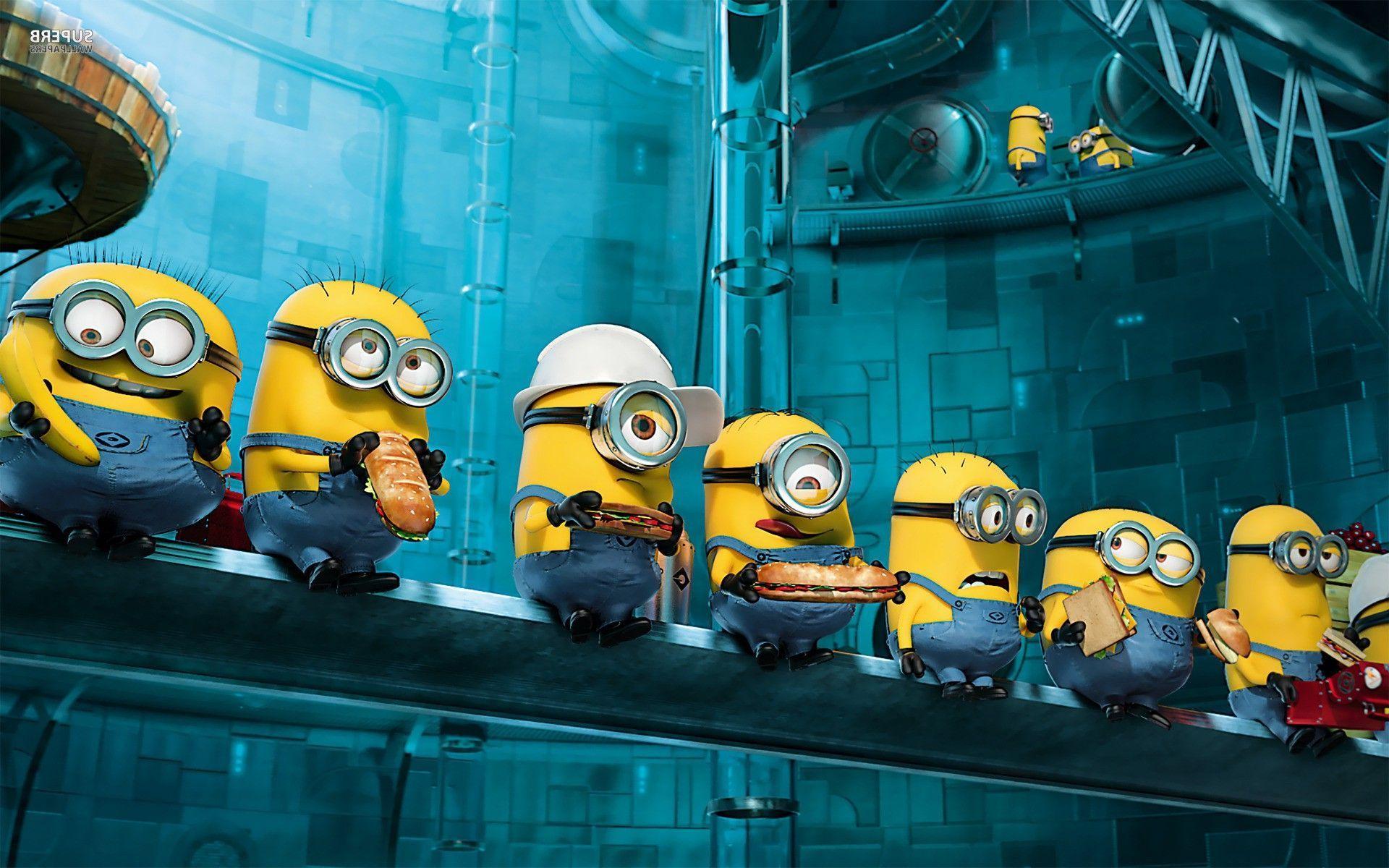 wallpaperres com minions movie wallpaper 01