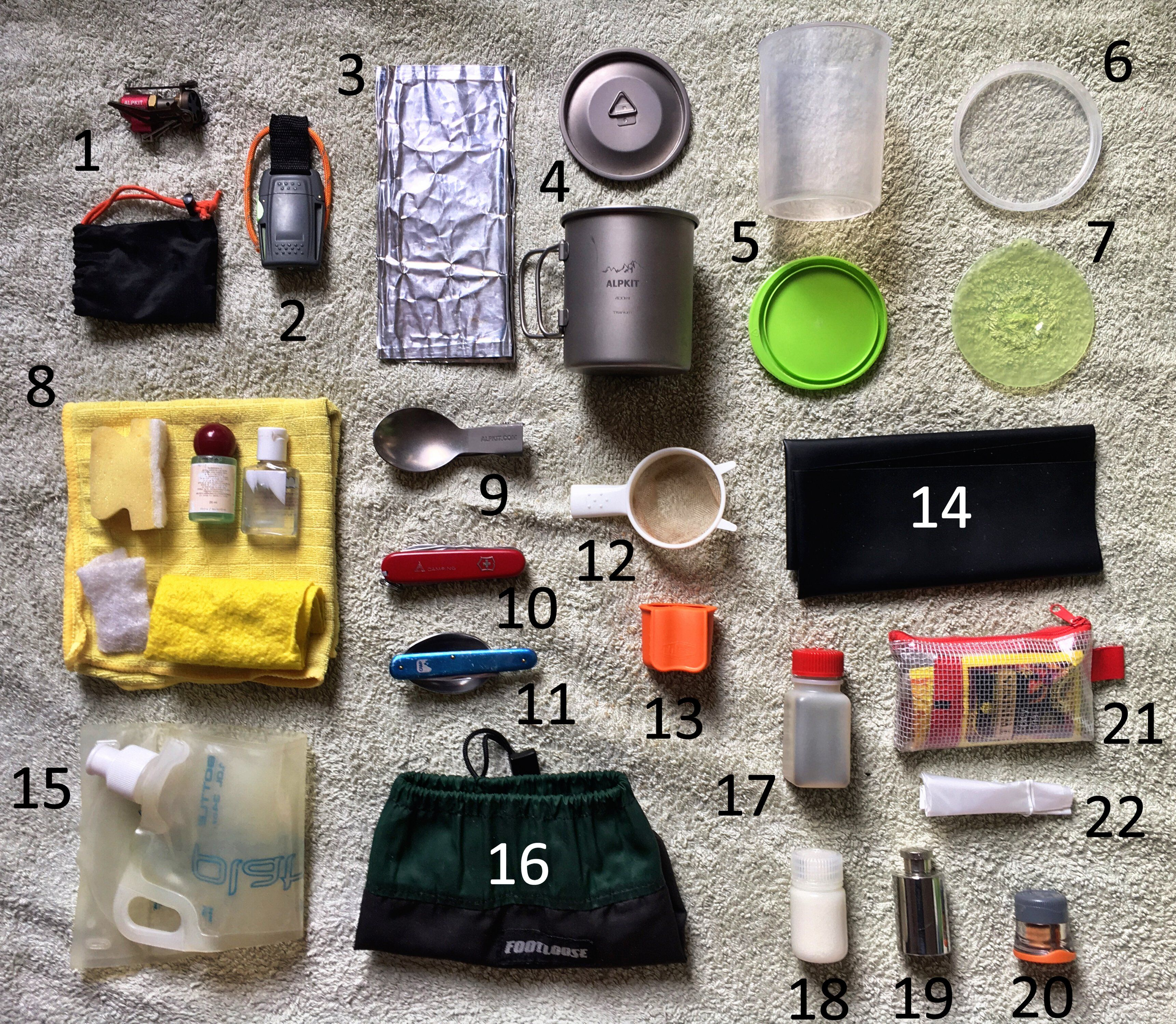 Backpacking cooking gear lightweight and compact is