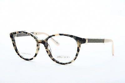 06adb2afcaf1 Original New Jimmy Choo JC 118 VUV Grey Frame Cat Eye 51mm Eyeglasses   JimmyChoo