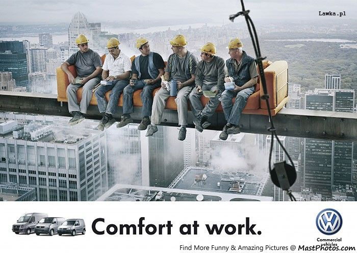 volkswagen comfort work ads manifesto volkswagen volkswagen comfort at work you are viewing photo titled volkswagen comfort at work from the category amazing pictures tags advertisement