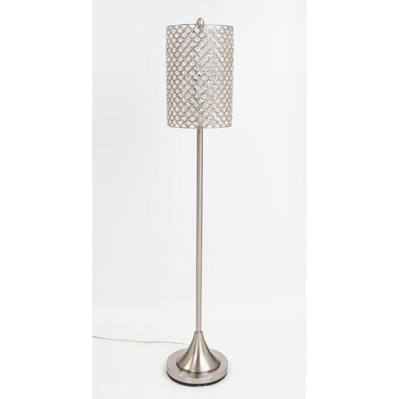 Hellwig 62 Floor Lamp In 2020 Floor Lamp Silver Floor Lamp