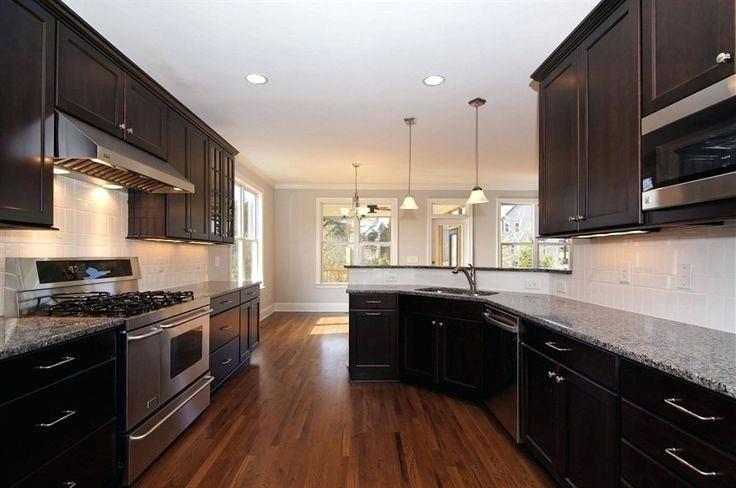 kitchen backsplash for dark cabinets decoration kitchen ...