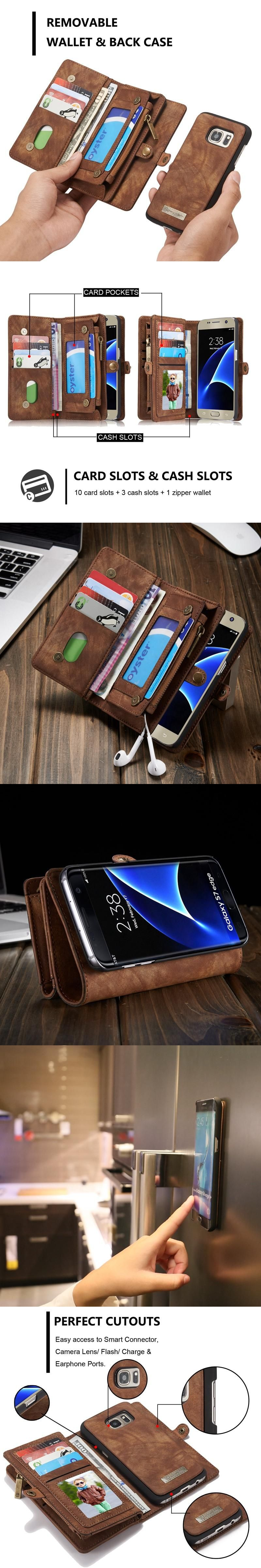 Luxury For Samsung Galaxy S8 Case Leather Card Pack Functiona Silikon Soft Plus Nillkin Nature Ultrathin Original Smasung