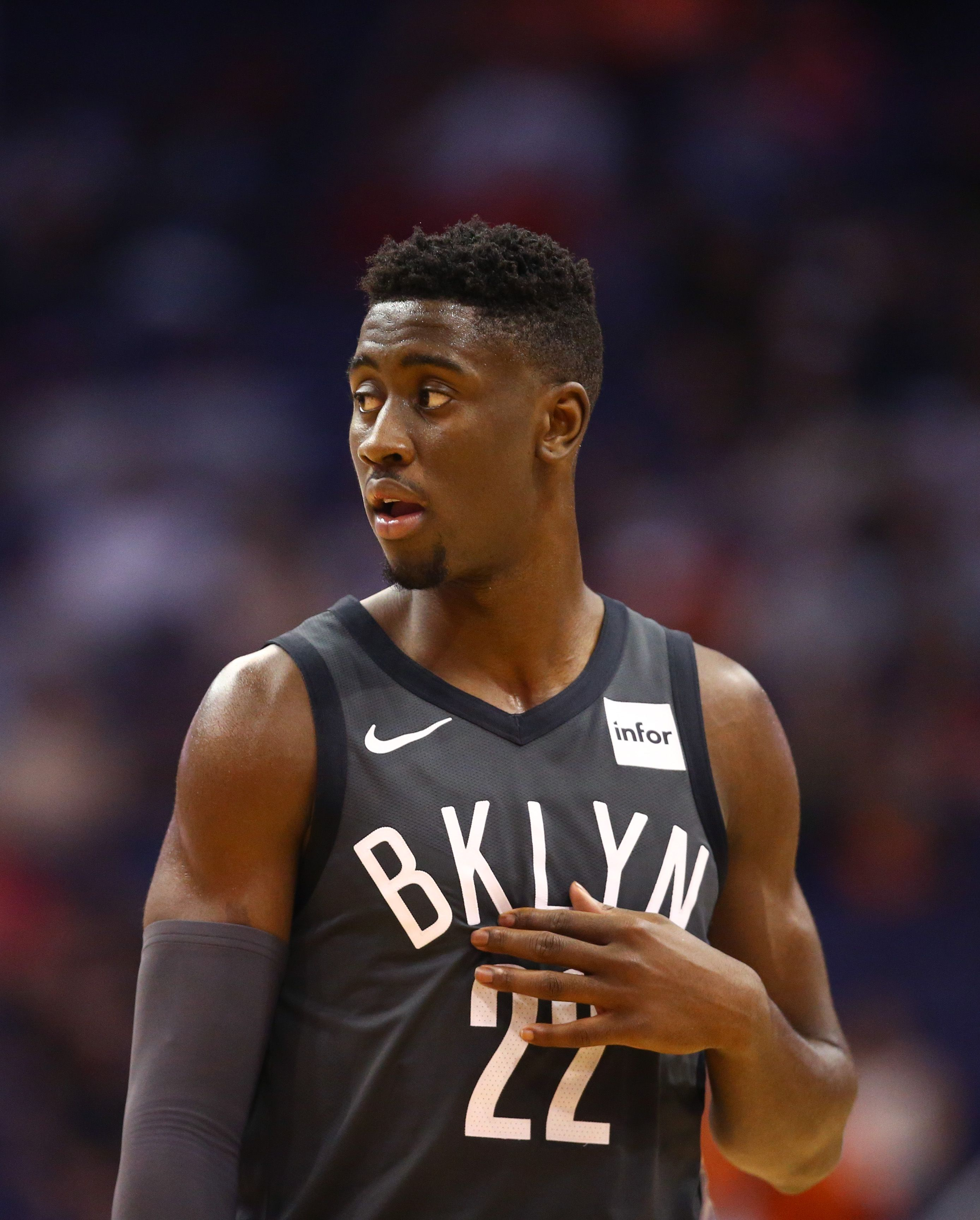 Caris Levert Agrees To Extension With Nets Nba Com Nba Brooklyn Nets Team Basketball Wallpaper