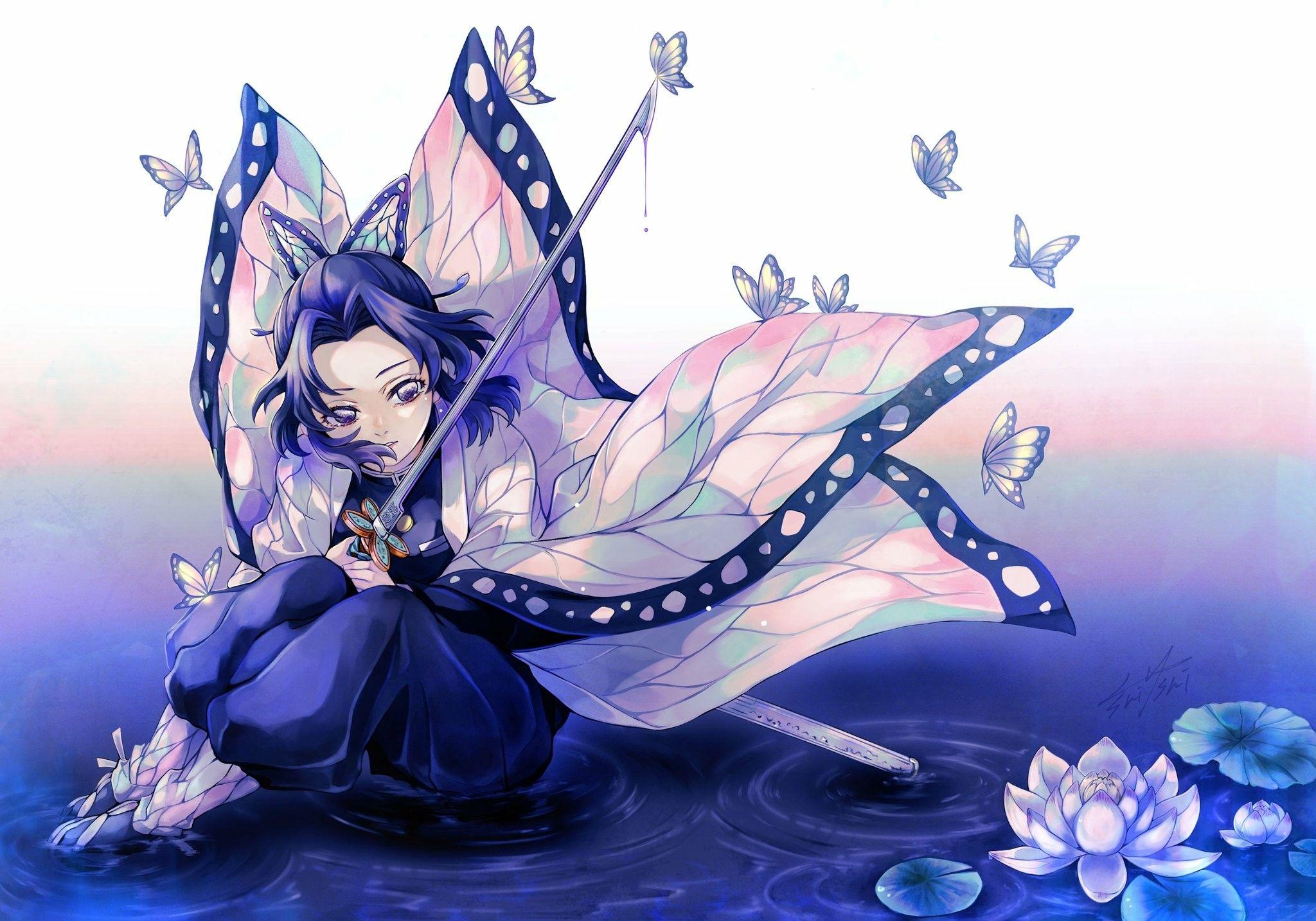 胡蝶しのぶカッコいい画像 【鬼滅の刃】胡蝶しのぶがかっこいい!毒使い!