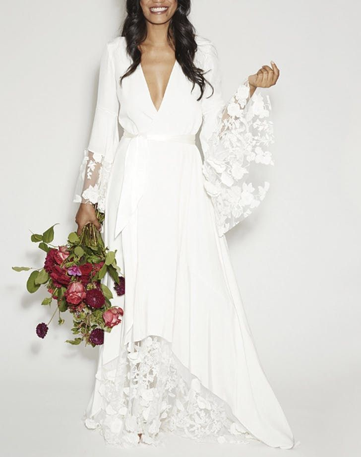 Non Traditional Wedding Dresses With Sleeves