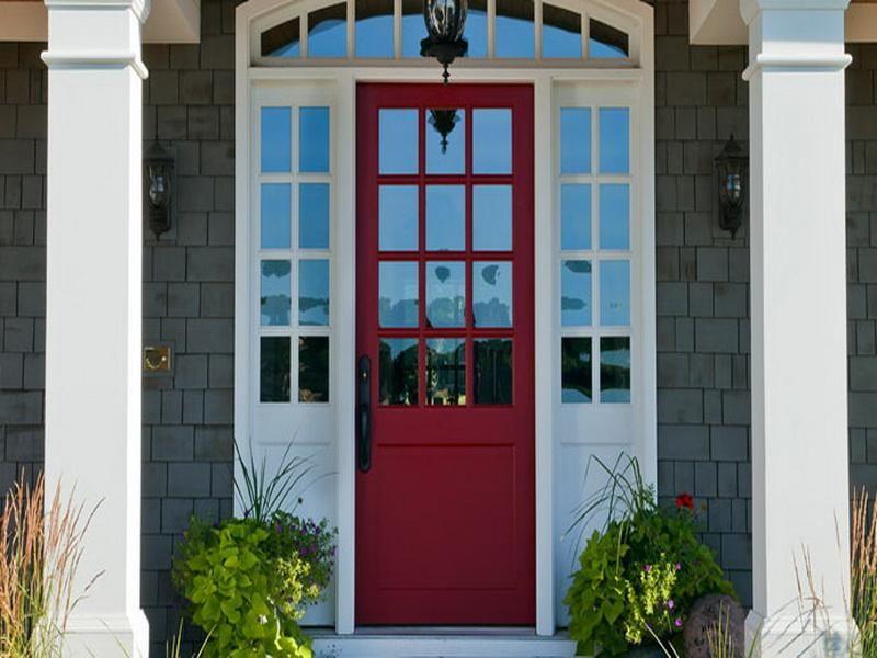 exterior front door colors | #colortrends #FoxBrothers | Exterior ...