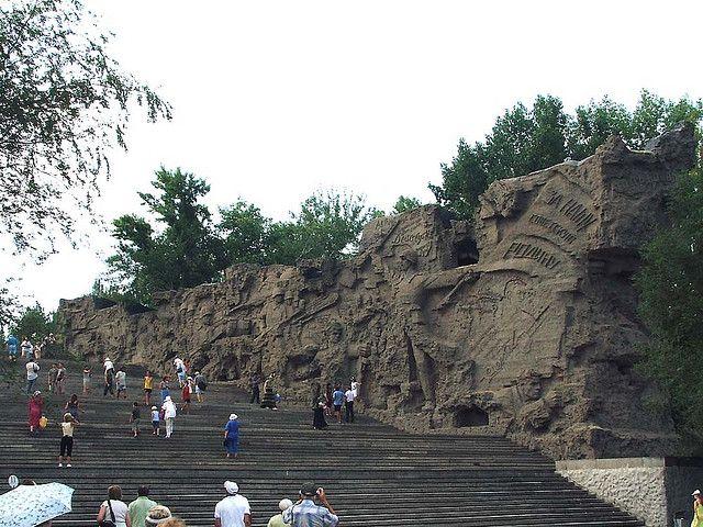 Wall of death, Volgograd, Russia
