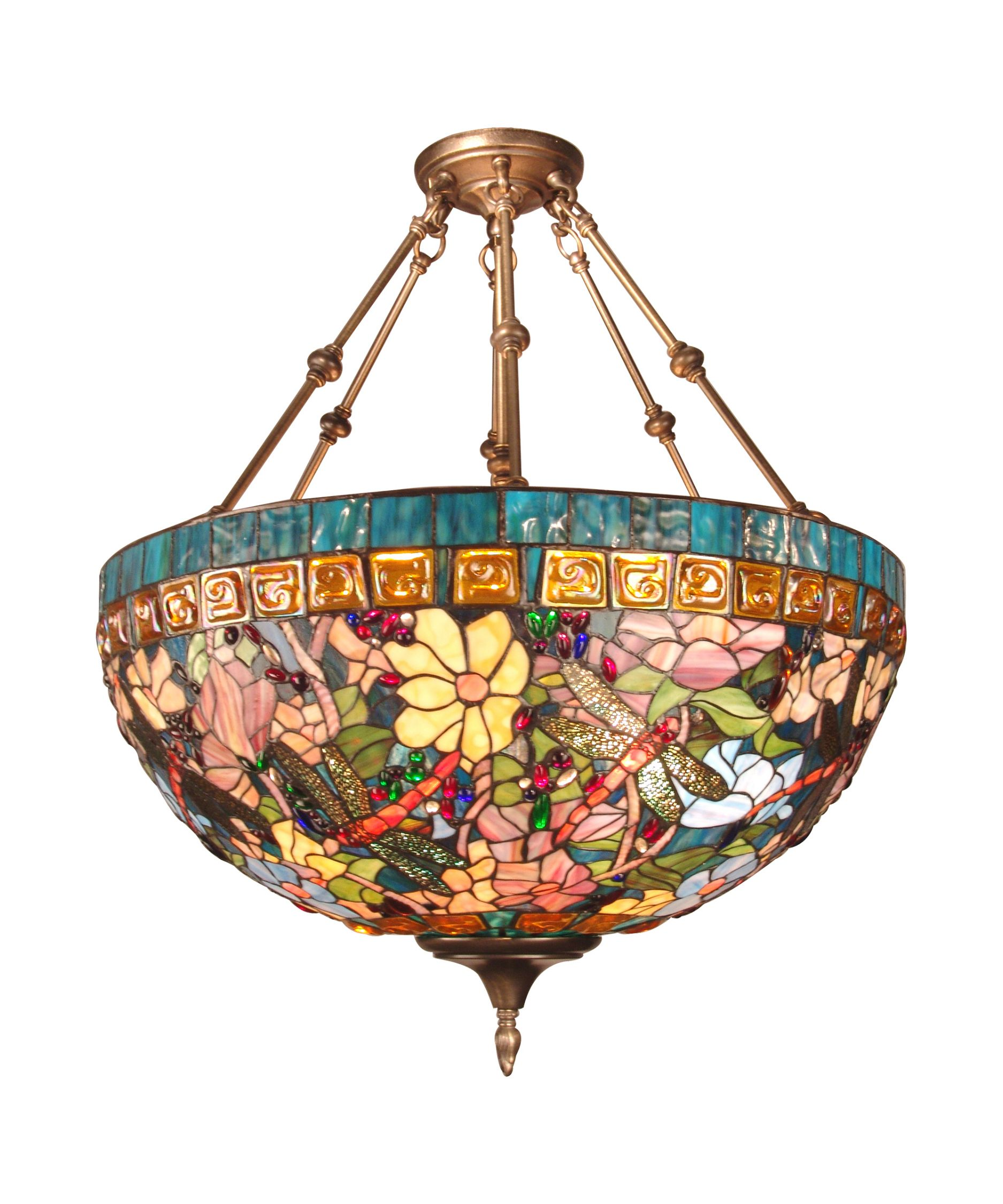 24 Inch Large Pendant By Dale Tiffany Tiffany Ceiling Lights