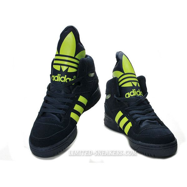 8a69418499a0 Adidas Originals M Attitude Logo Monogram Shoes Warcraft Attacks ❤ liked on  Polyvore