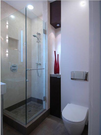 Dise o de cuarto de ba o peque os y medianos con ideas for Disenos de apartaestudios pequenos