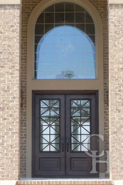 Iron Double Door Clark Hall Iron Doors Charlotte Nc Front Doors