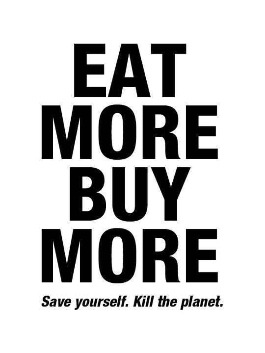 Save yourself.