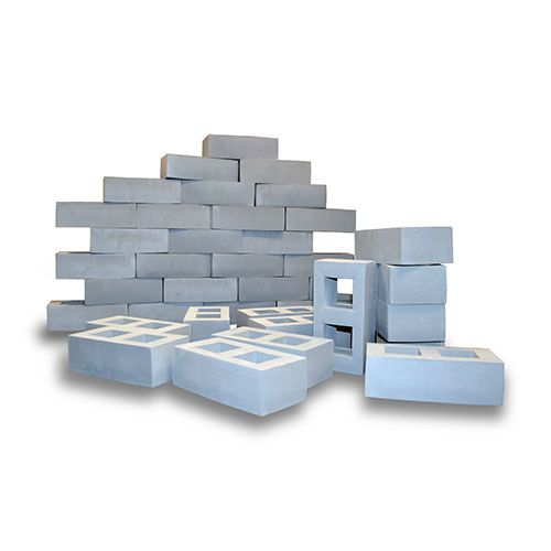 The Foam Breeze Blocks Are The Size And Colour Of A Real House Brick. These  Pretend Bricks Will Make Children Feel Like Real Little Builders.