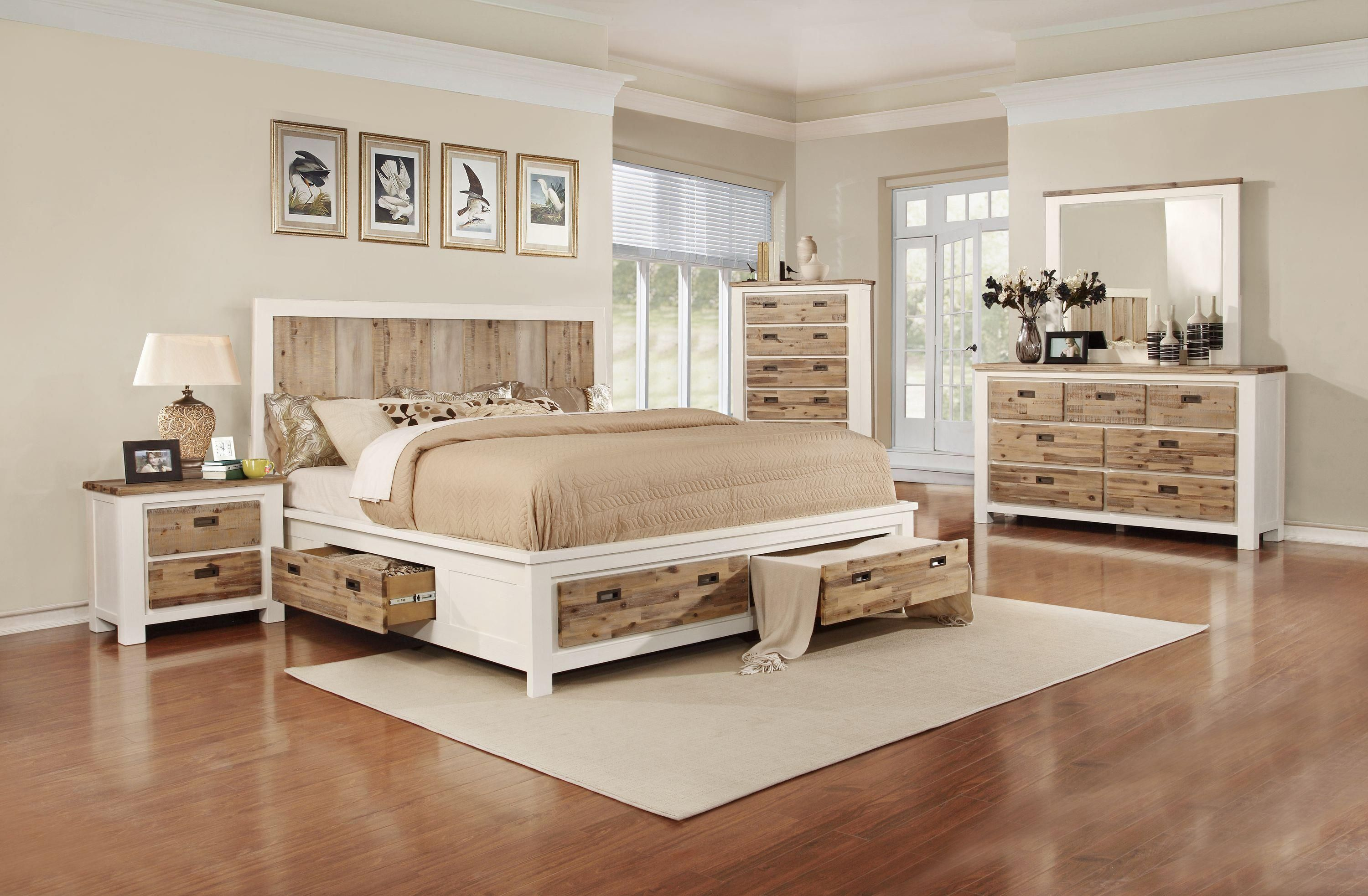 C347 Queen Bed with Built-in Storage by Lifestyle at ...