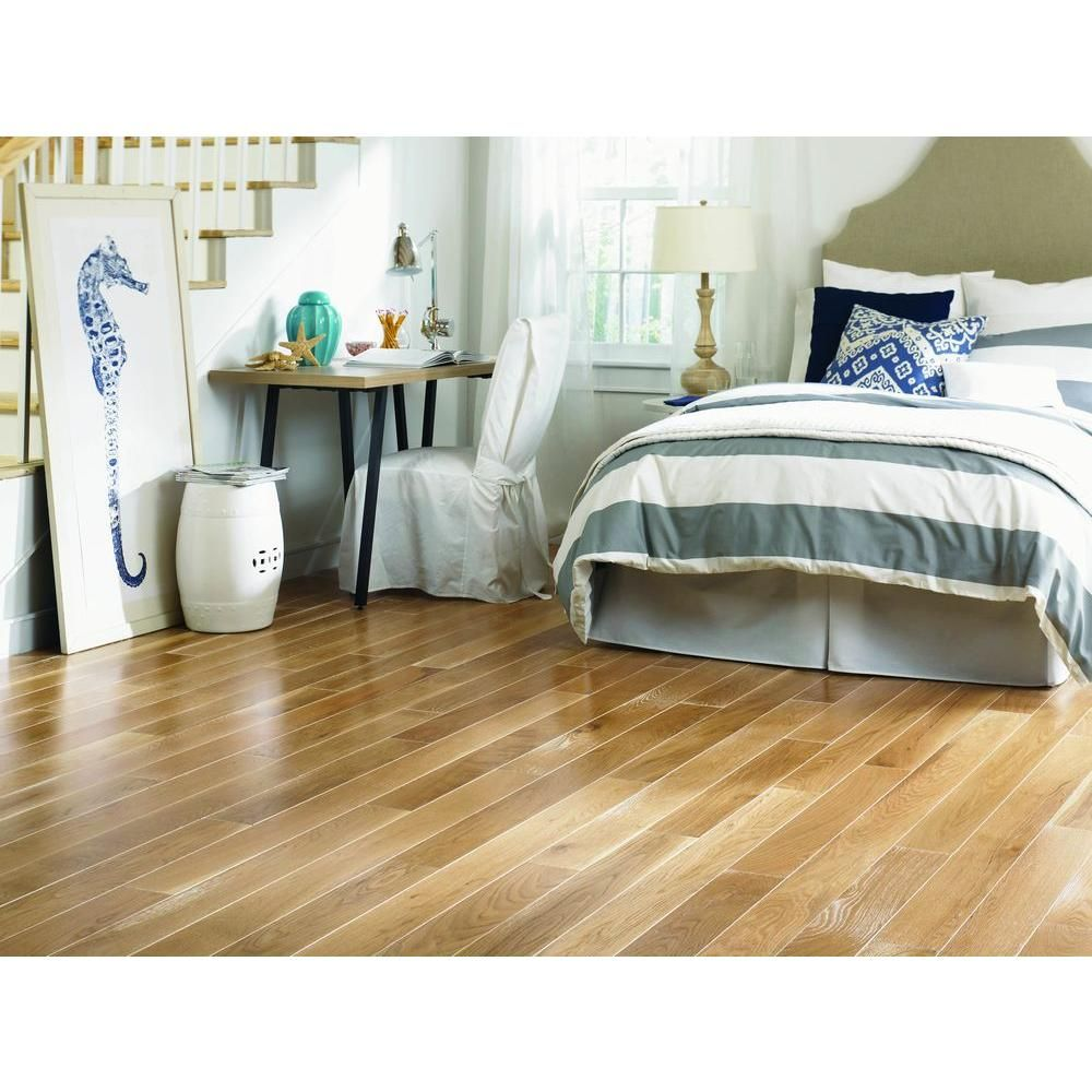 blue ridge oak charleston sand wire brushed 34 in thick x 5 in
